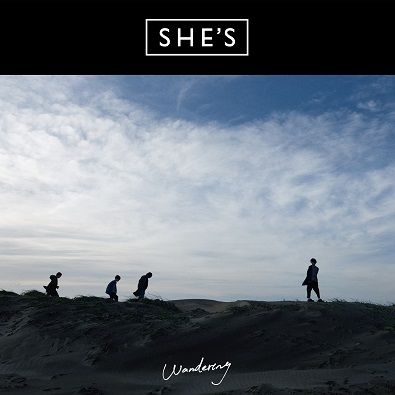 2nd ALBUM『Wandering』/ SHE'S