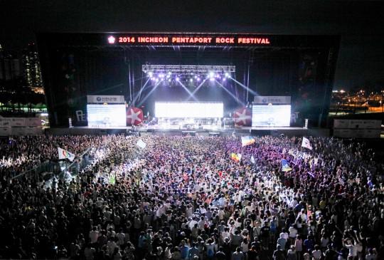 Pentaport Rock Festival @KOREA[韓国]